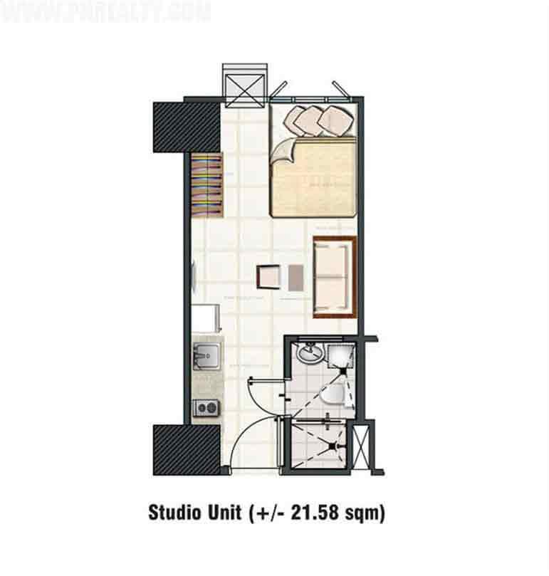 Studio Unit Layout