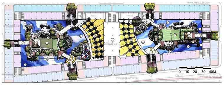 Amenity Landscaped Plan