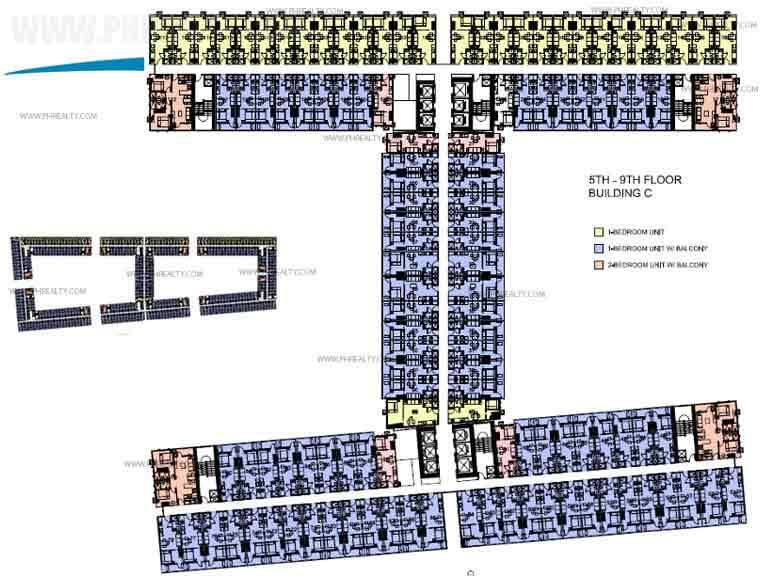 Building C 5th - 9th Floor