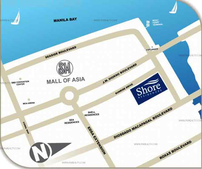 Shore Residences Location