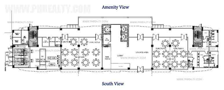 Tower 2 Ground Floor Plan