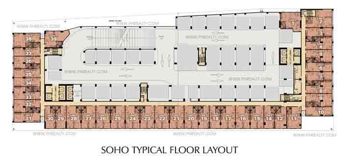 Soho Floor Plan