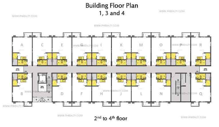2nd to 4th Floor