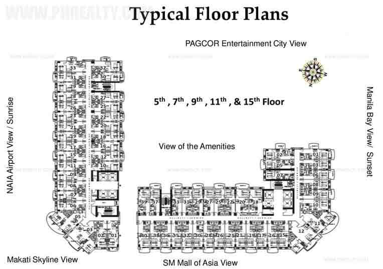 Tower A Typical Floor Plan