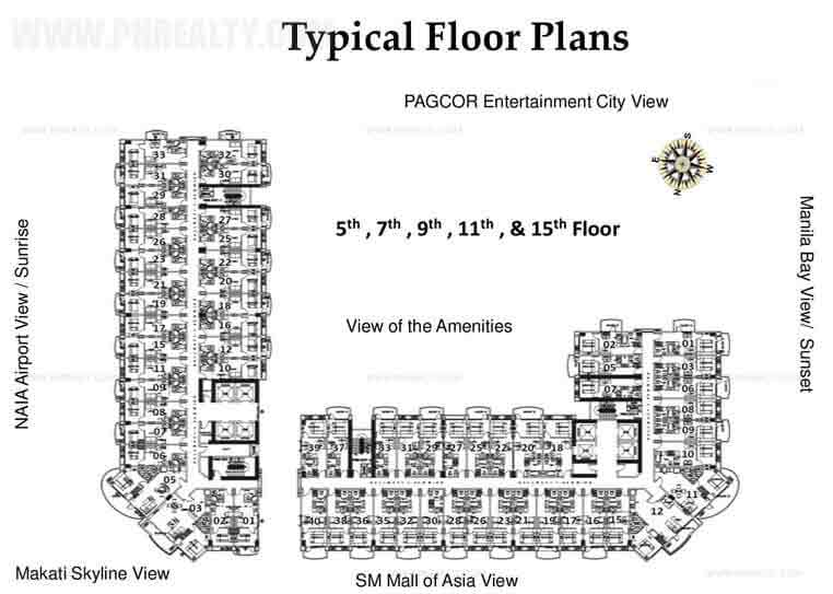 Tower D Typical Floor Plan