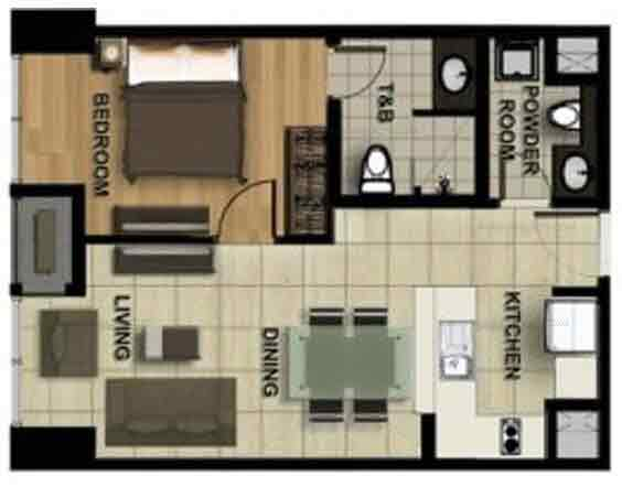 1 - Bedroom A