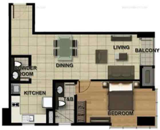 1 - Bedroom B
