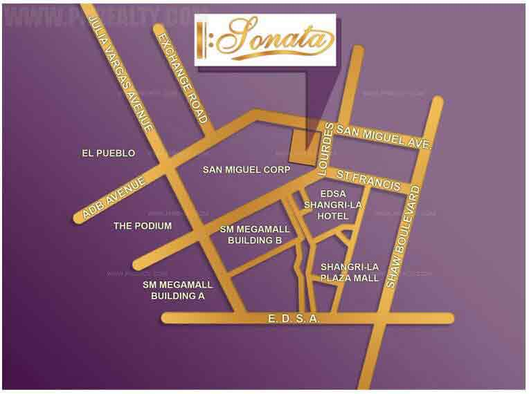 Sonata Premiere Residences Location
