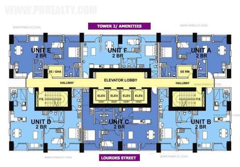 Floor Plan-2 Bedroom