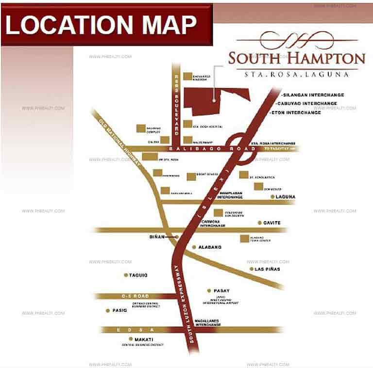 South Hampton Location