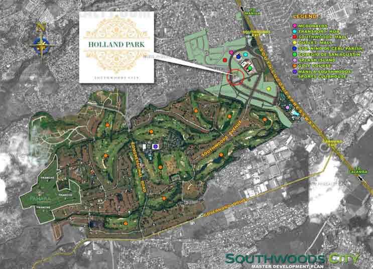 Holland Park Location