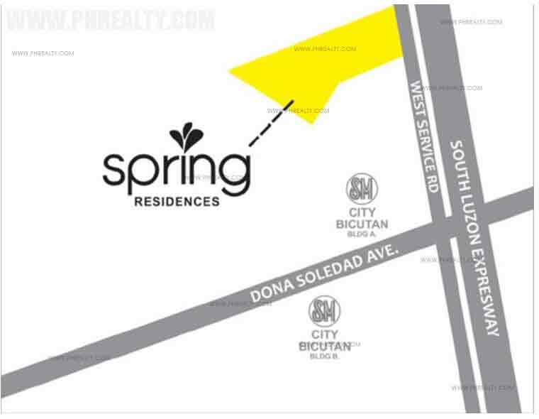 Spring Residences Location
