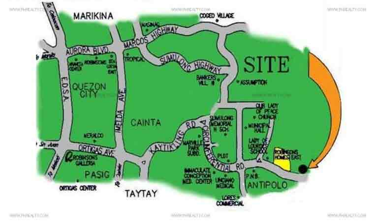 St Judith Hills House Lot For Sale in San Jose Antipolo Price