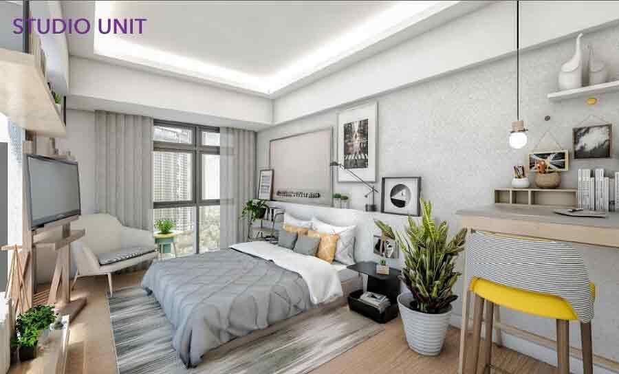 Studio Unit - Bedroom