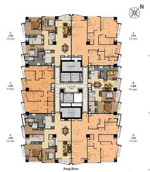 Suites Level (21st to 28th Floor)
