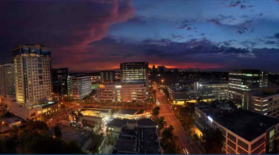 Sunset - Alabang Skyline