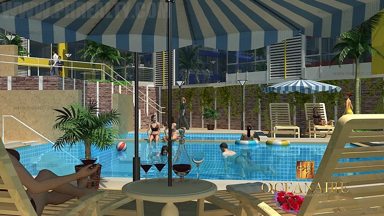 Oceanaire condo for sale in pasay city price - Southeastern college pasay swimming pool ...