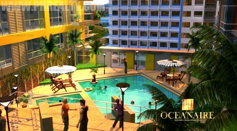 Swimming Pool Area - Deck Garden