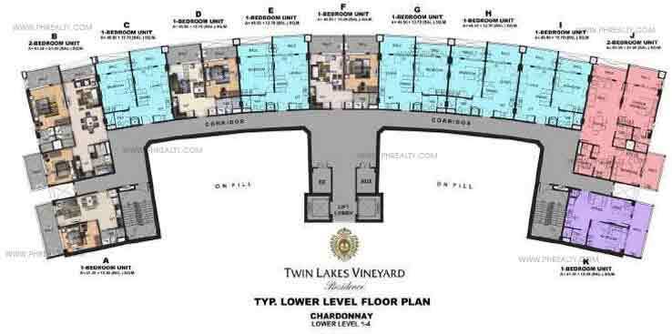 Typical Lower Level Floor Plan