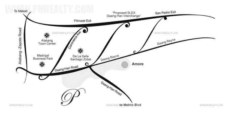 The Amore Portofino Location