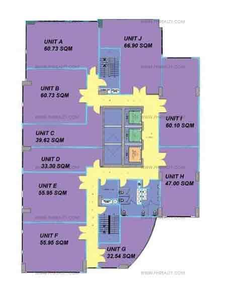 Typical Office Floor Plan