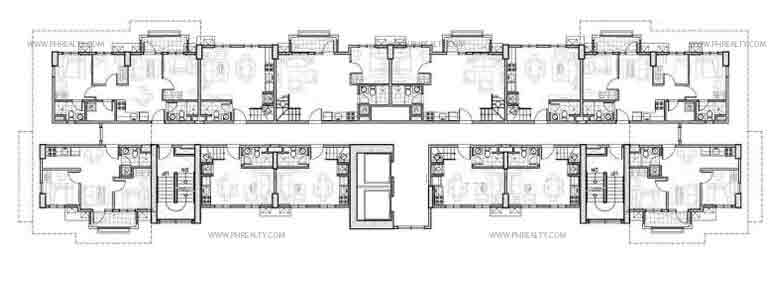 15th Floor Plan
