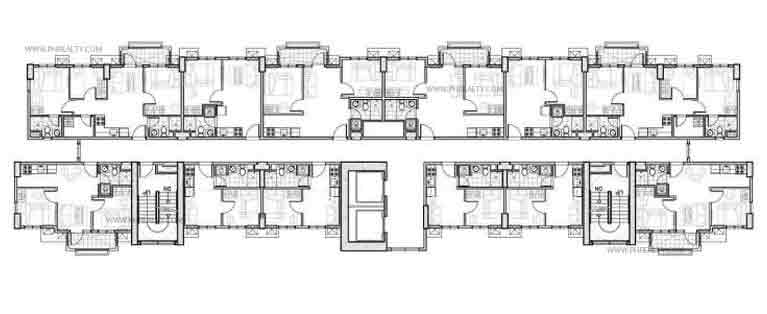 Typical Floor Plan 2nd - 14th Level