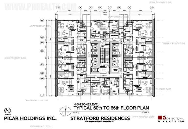 66th Floor Plan