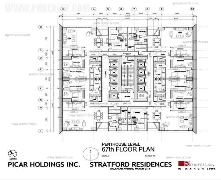 Pent House Level 67th Floor