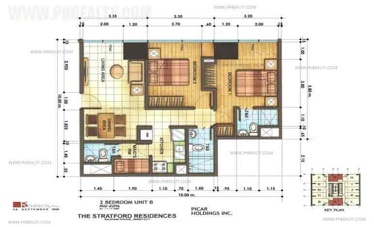 2 Bedroom Unit B