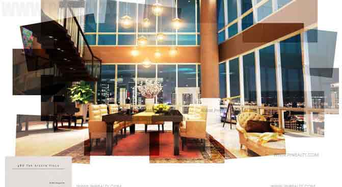 The Suites One Bonifacio Highstreet 4 Bedroom Sky Atrium Villa
