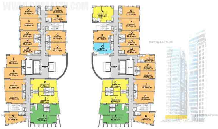 4th-5th Floor Plan