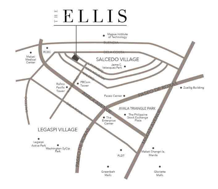 The Ellis Makati Location