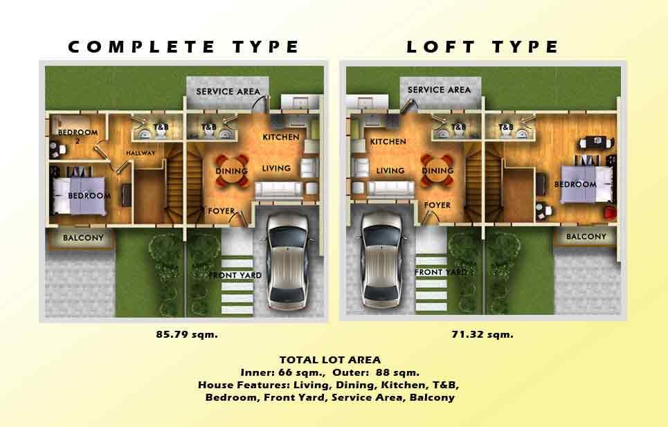 The Villas - Floor Plan