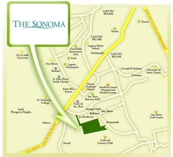 The Sonoma Location
