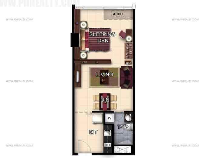 Unit 47th-48th Floor Studio