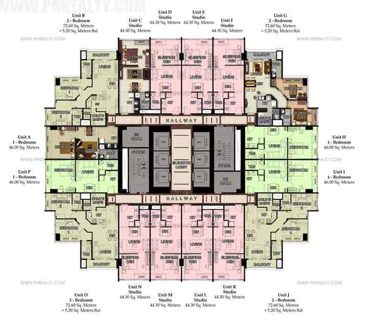 49th Typical Floor Plan