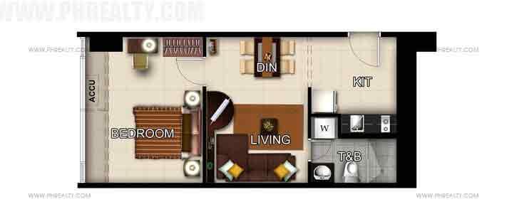 Unit 51st Floor -1 Bedroom