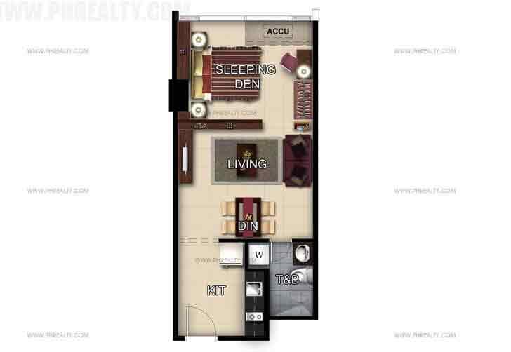 Unit 50th Floor Studio