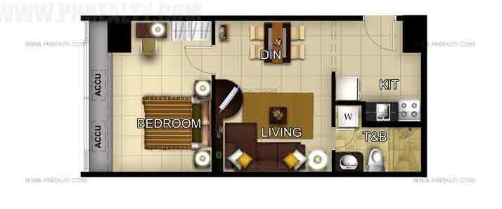 Unit - 1 bedroom