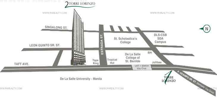 Torre Central Location