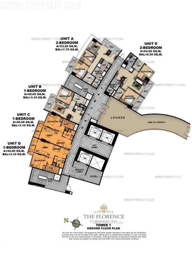 Tower 1 Third Foor Plan
