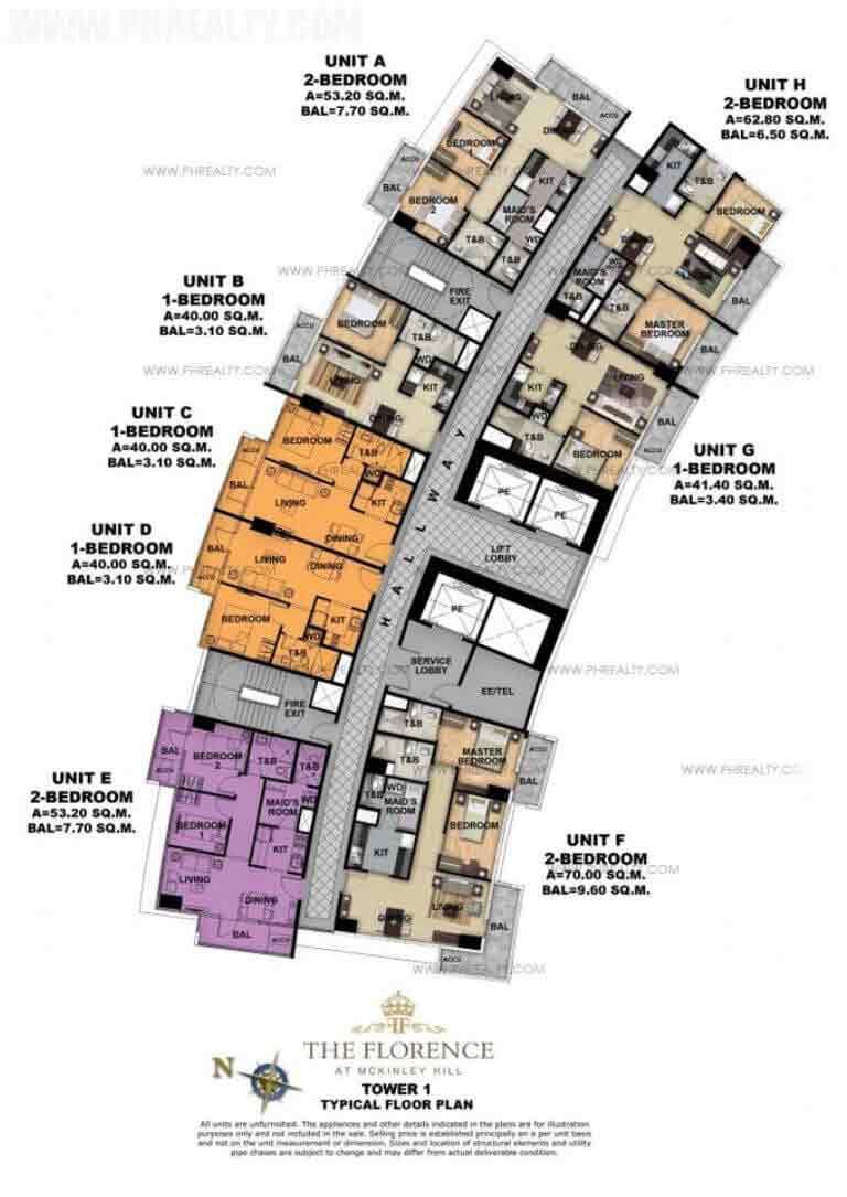 Tower 1 Ground Foor Plan