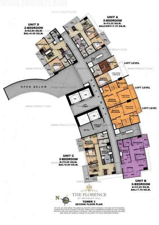 Tower 3 Third Floor Plan