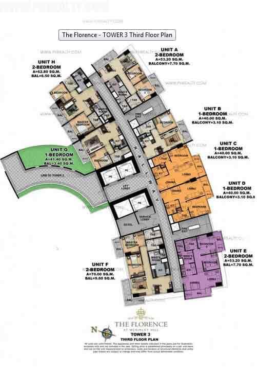 Tower 3 Ground Floor Plan