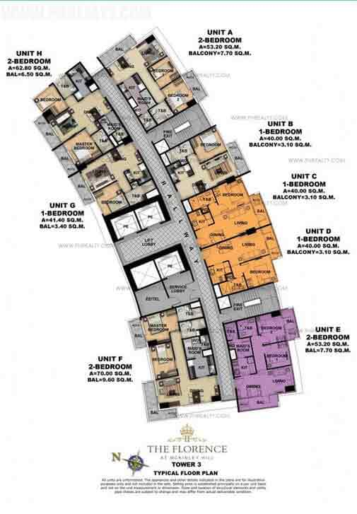 Tower 3 Second Floor Plan