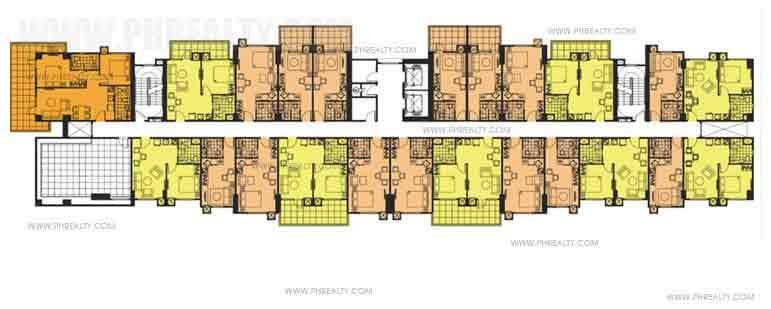 Tower 1 Floor Plan 7th Floor