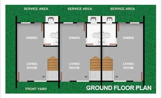 Townhouse Ground Floor Plan