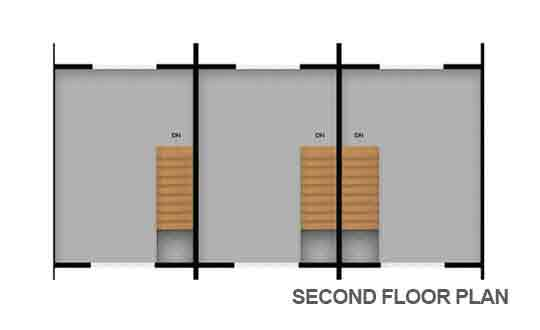 Townhouse Second Floor Plan