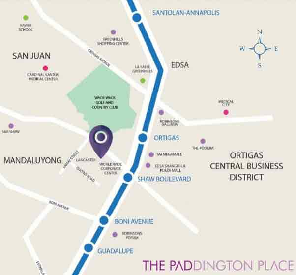 The Paddington Place Location